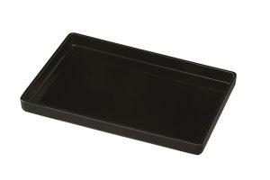 画像1:  焼香盆 黒