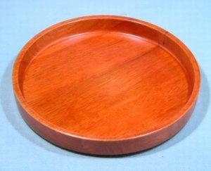 画像2: 木製10.0 丸茶盆