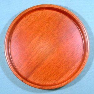 画像3: 木製10.0 丸茶盆